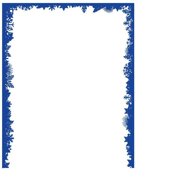 clip art black and white download Clip art blue border. Snowflake borders clipart