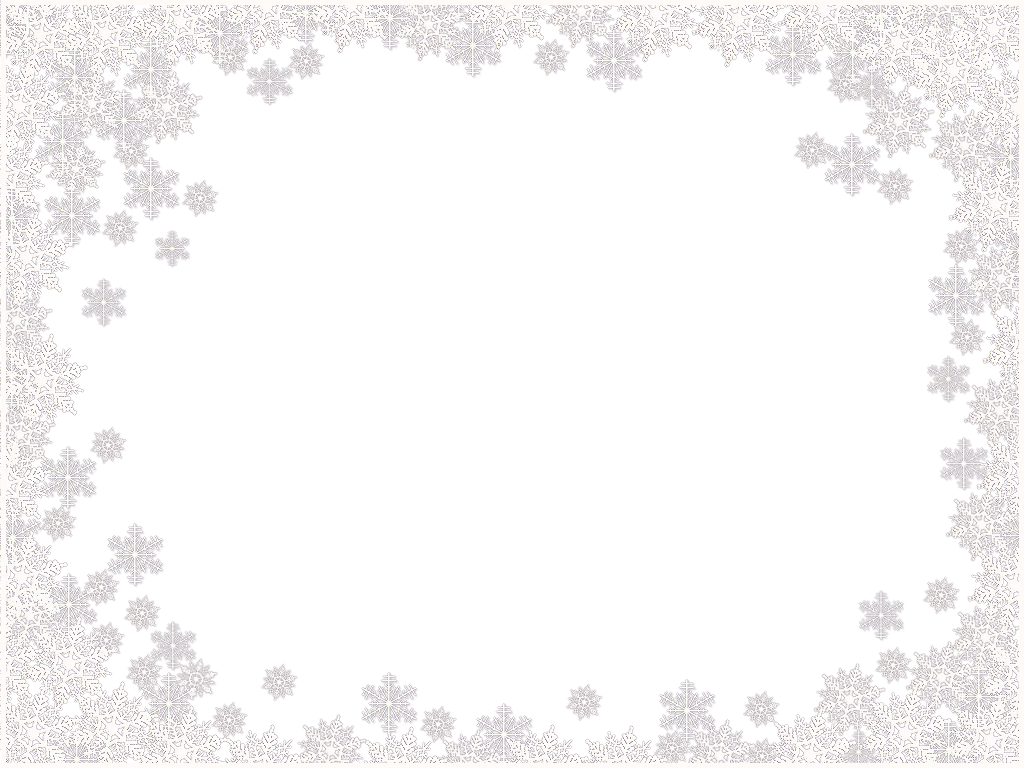 clip art library library Snowflakes border frame PNG Snowflake Border