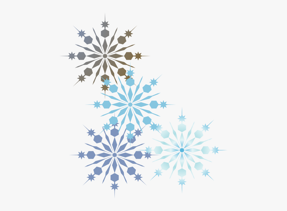 clip library stock Snowflake without a background. Snowflakes clipart borders