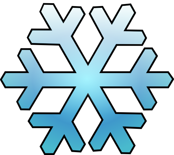 image library download Flake clipart simple snowflake. Clip art at clker
