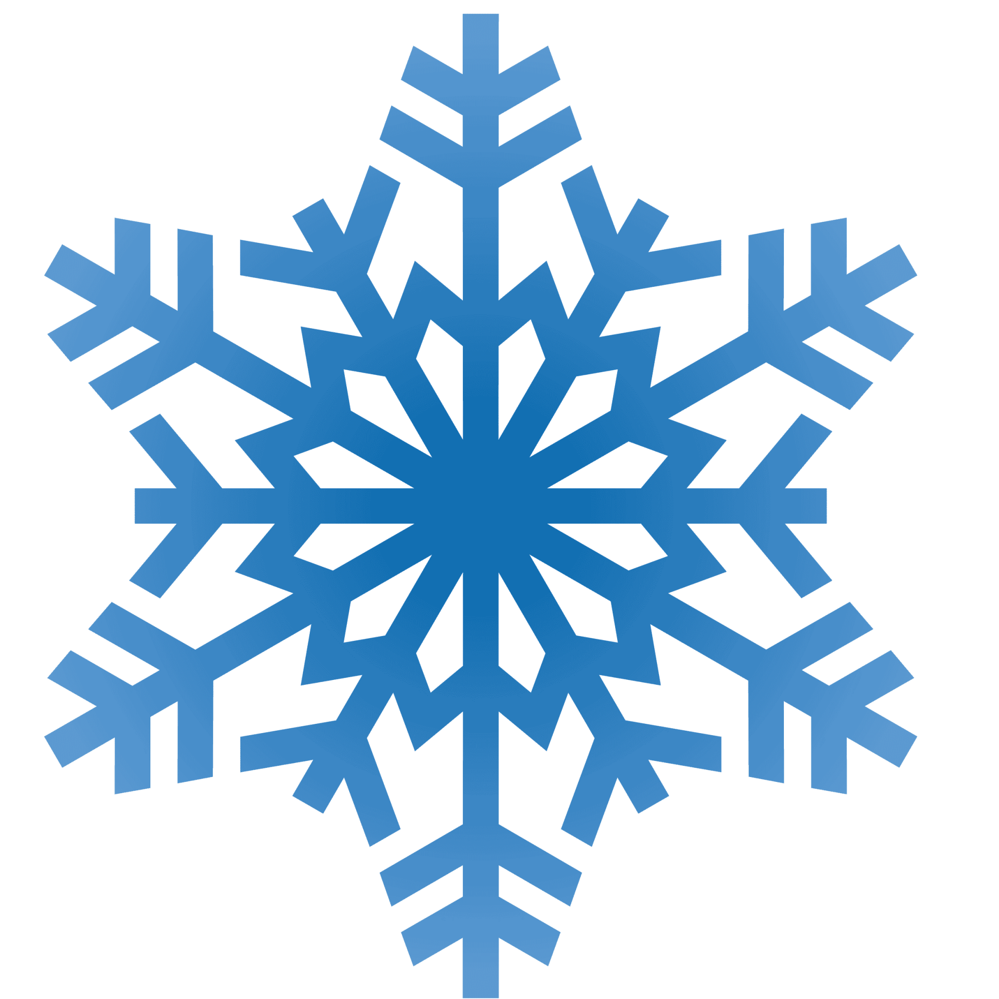 graphic royalty free library snowflake