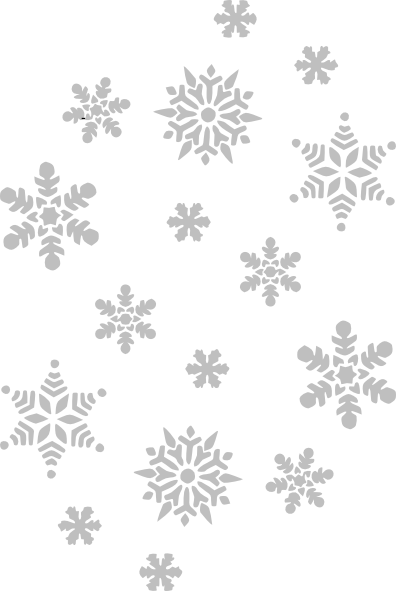 clipart stock Silver Snowflakes Clip Art at Clker