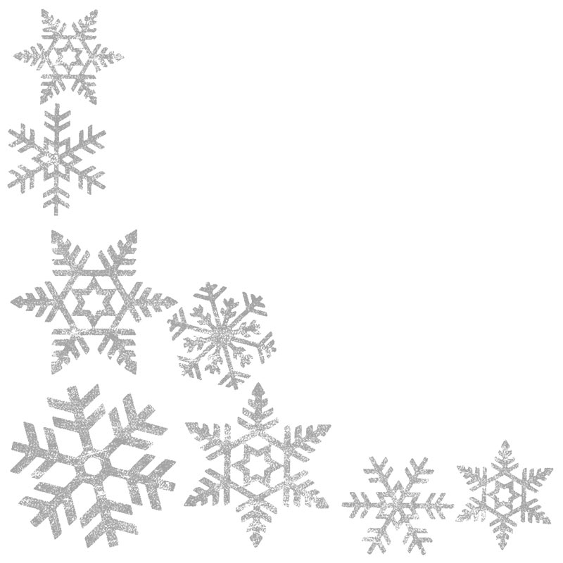 svg black and white stock Free frame cliparts download. Snowflake borders clipart