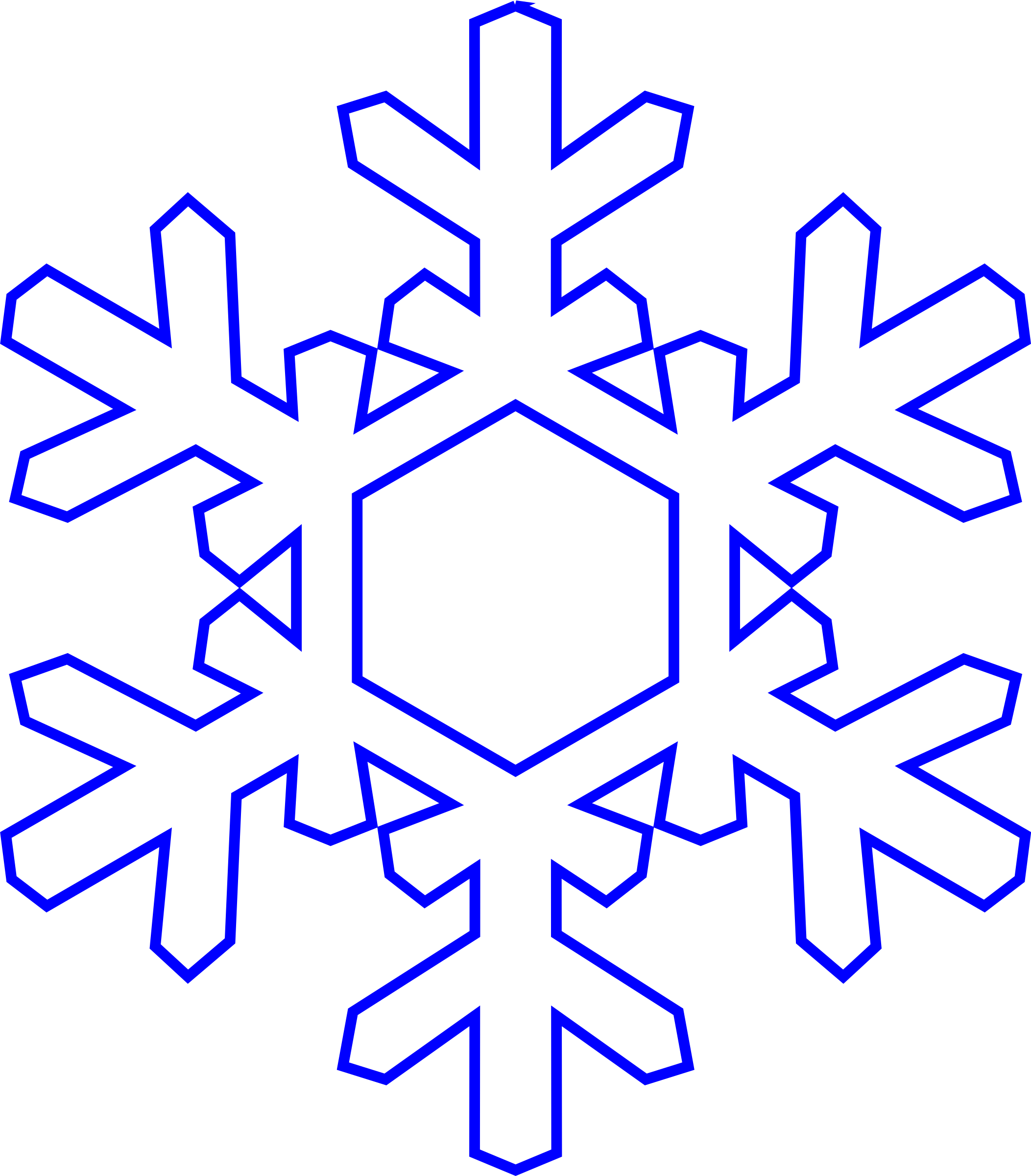 picture download Real cliparts jokingart com. Snowflake clipart borders