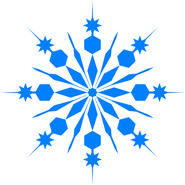 graphic library download Snowflake Clip Art at Clker