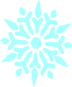 transparent stock Snowflakes clipart turquoise. Snowflake clip art at.