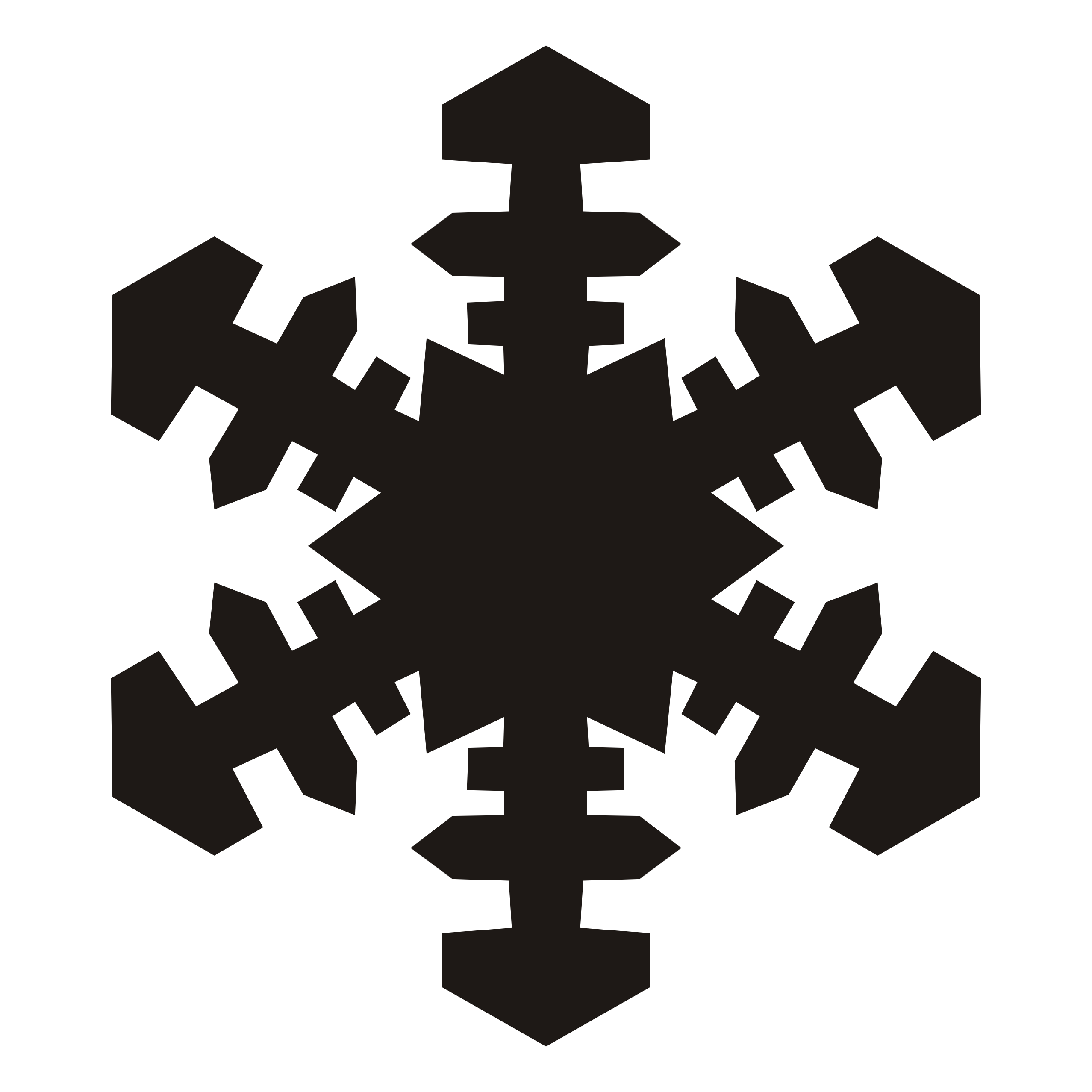 picture transparent Snowflakes clipart. Snowflake black and white.