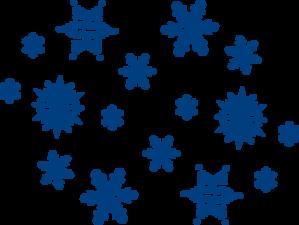 clip art transparent stock Blue clip art at. Snowflakes clipart.