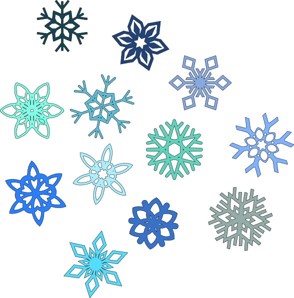 clip transparent library Snowflake backdrop free on. Snowflakes clipart.