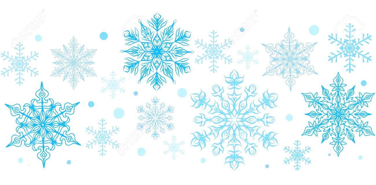image freeuse Snowflakes clipart borders. Station