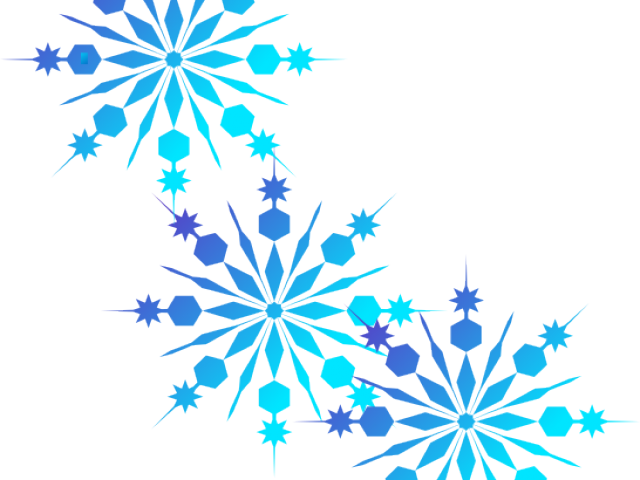 clip transparent download Snowflakes clipart borders. Snowflake pinnet black and