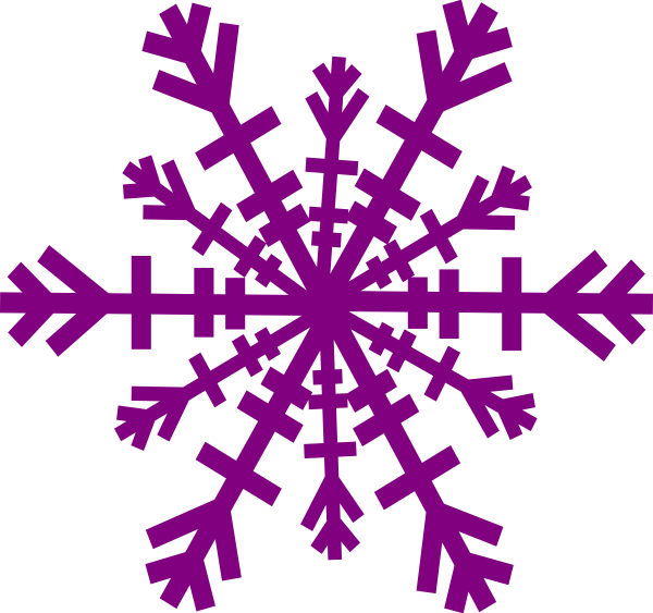 banner royalty free download Purple Snowflake Clip Art