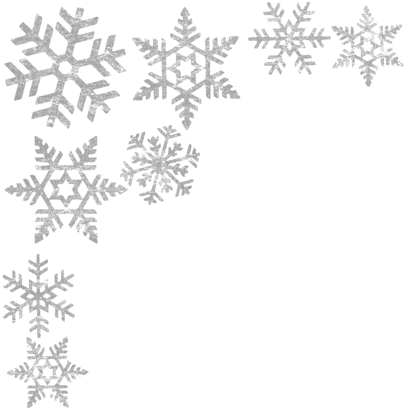 png black and white download Staggering Snowflake Border Clipart Free Winter Clip Art Borders