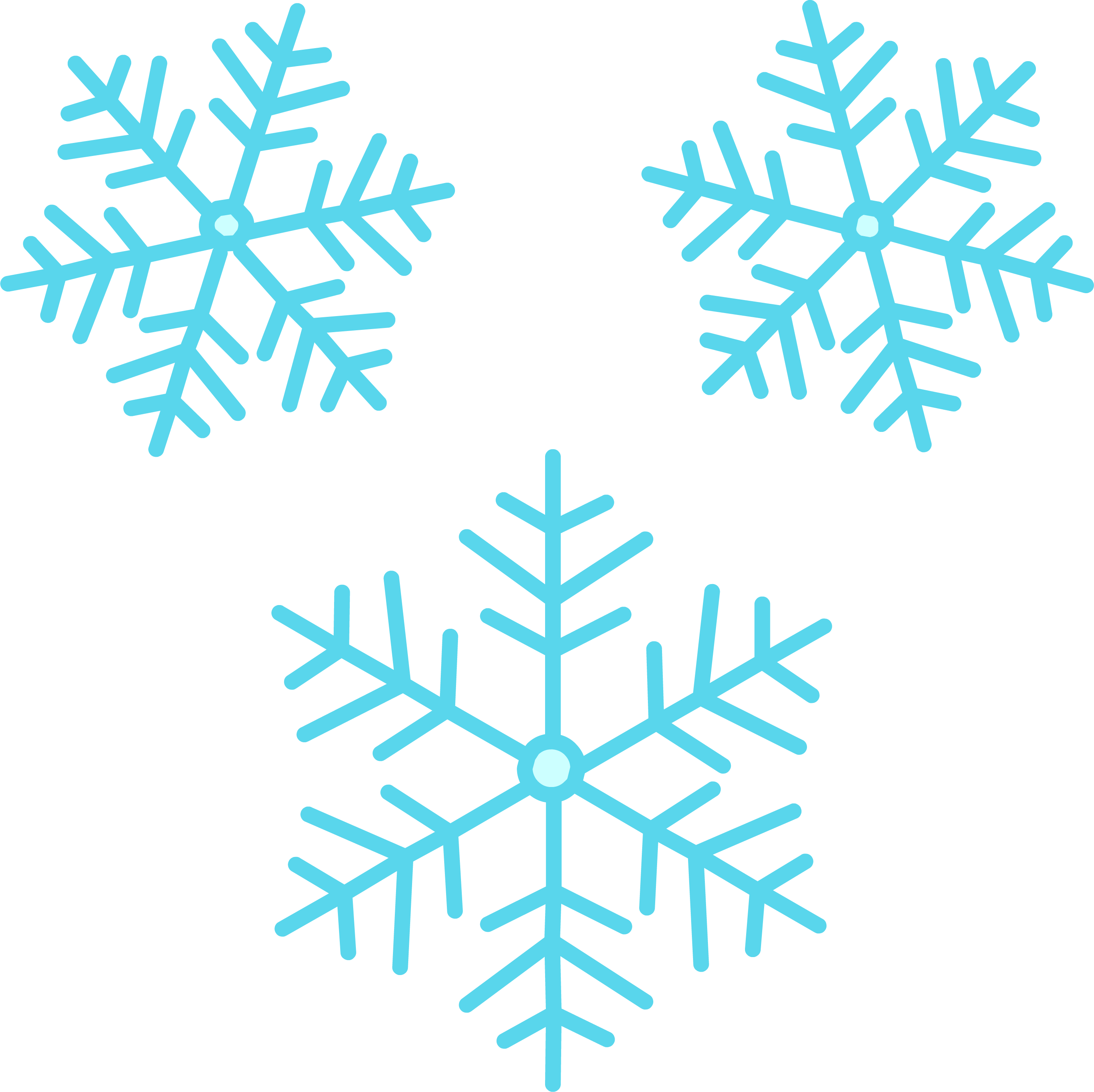 banner library library Cartoon Snowflake Pictures Free Download Clip Art
