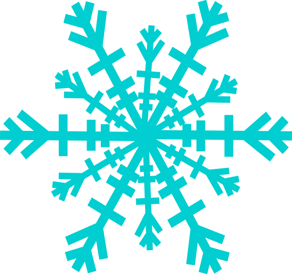 banner transparent library Snowflakes clipart turquoise. Snowflake pencil and in.