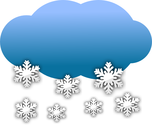 free Snow Clouds Clip Art at Clker