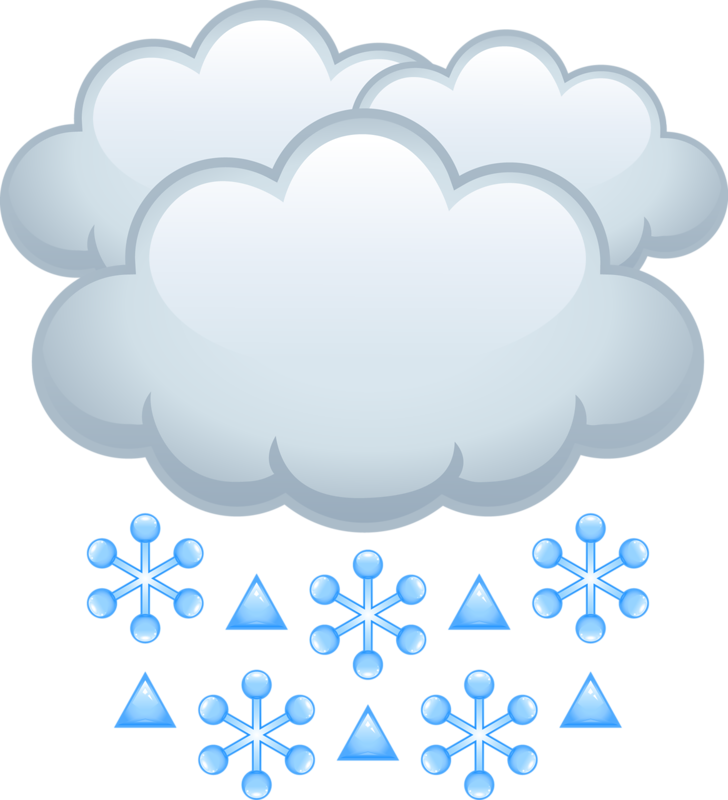 picture free library Cartoon cloud clip art. Snowing clipart