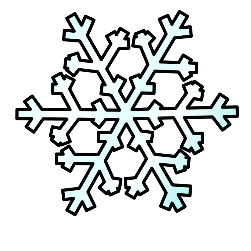 vector free  collection of snow. Snowing clipart