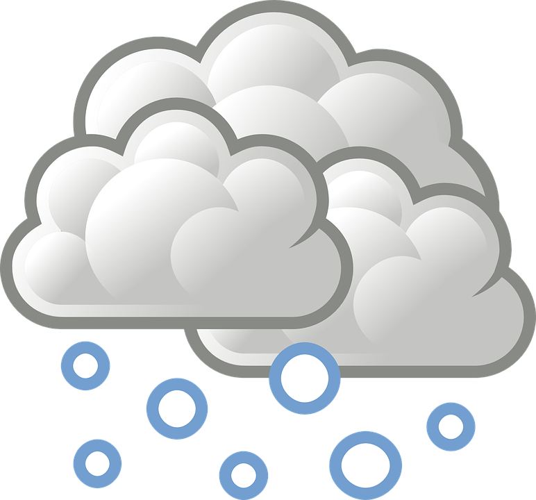 png royalty free Snowy clipart. Snowfall cold cloud free.