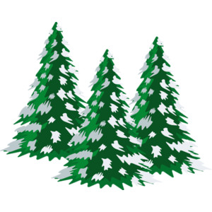 free stock Snowing clipart tree. With snow clip art.