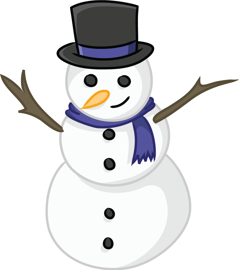 vector library stock Snowman clipart. This cute clip art.