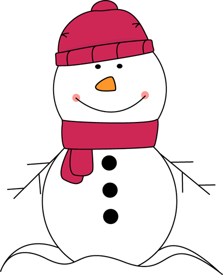 vector black and white stock Cute . Snowman clipart.