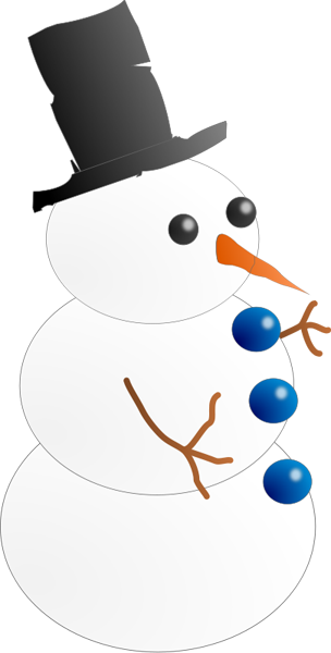 png free stock Snowman Clipart