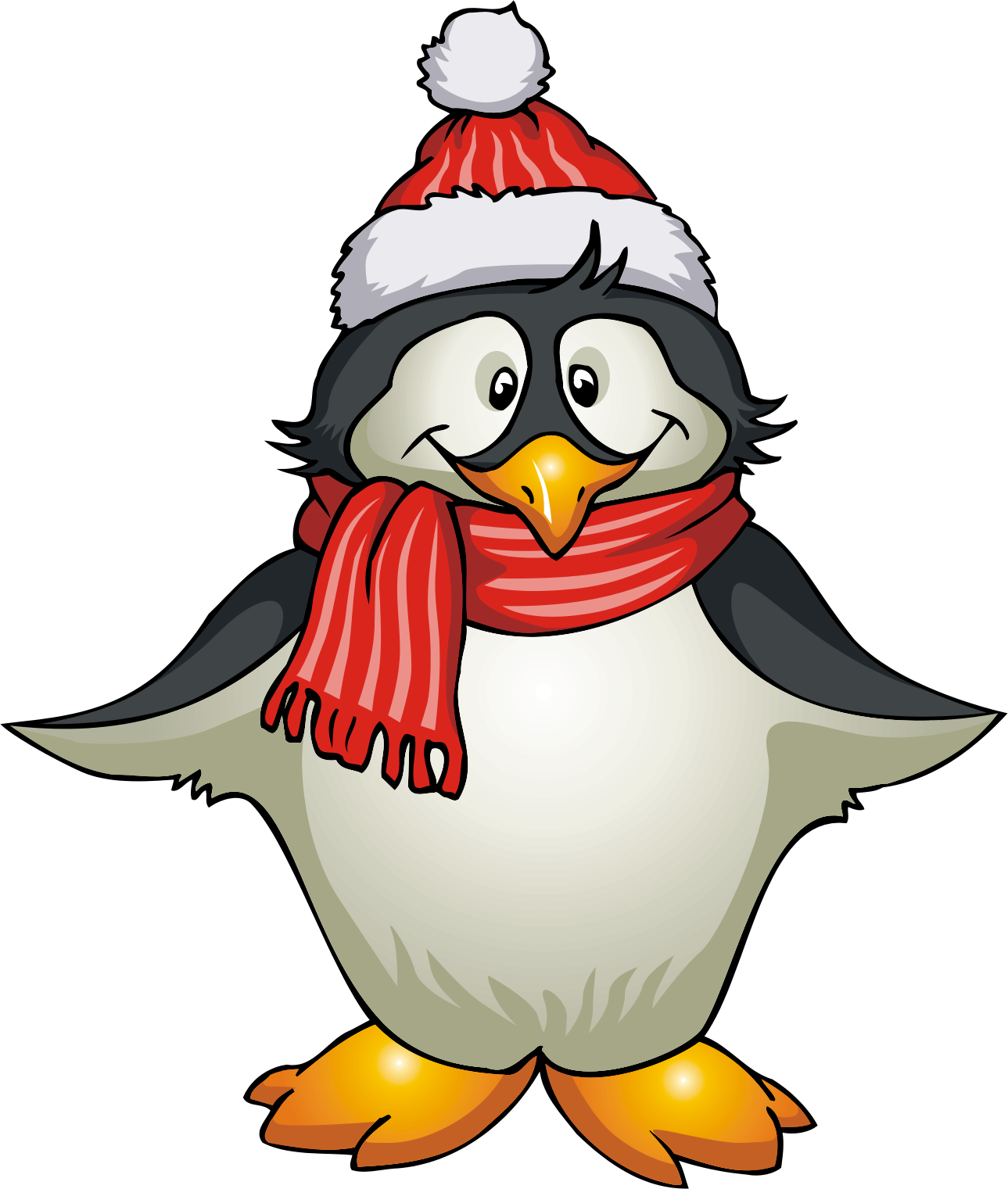 picture transparent library January Penguin Clipart