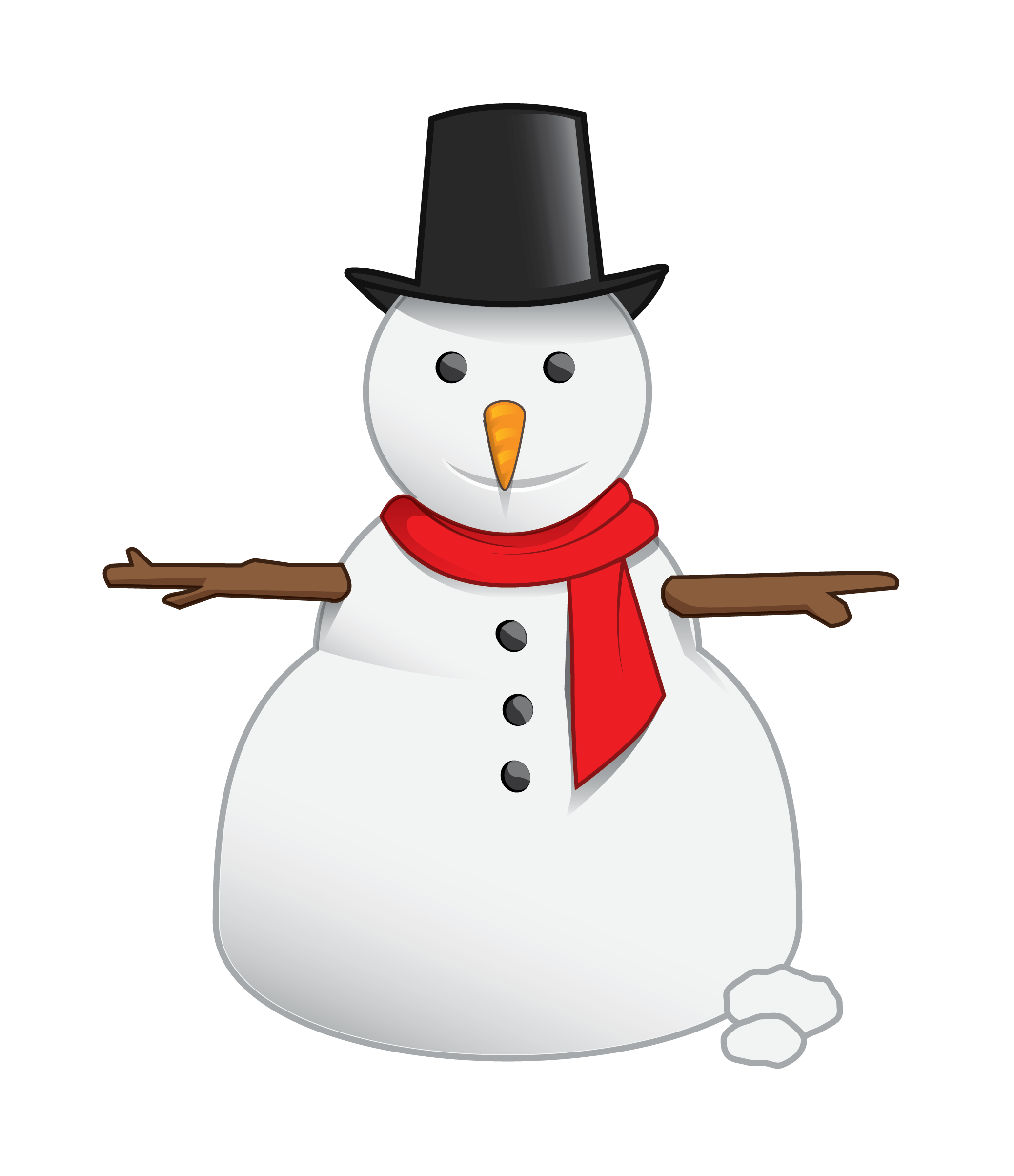 graphic freeuse Snowman PNG image