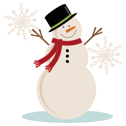 banner library stock Snowman Background Clipart