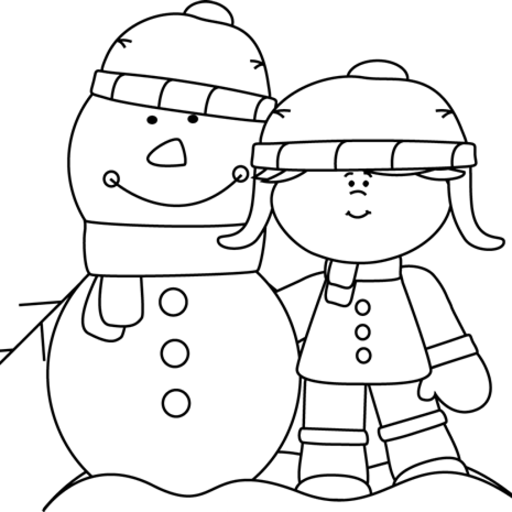 picture free Snowman Clipart Black And White birthday clipart hatenylo