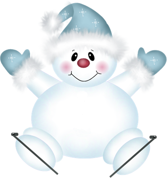 clipart free download Cute png snowman with. Snowmen clipart canvas.