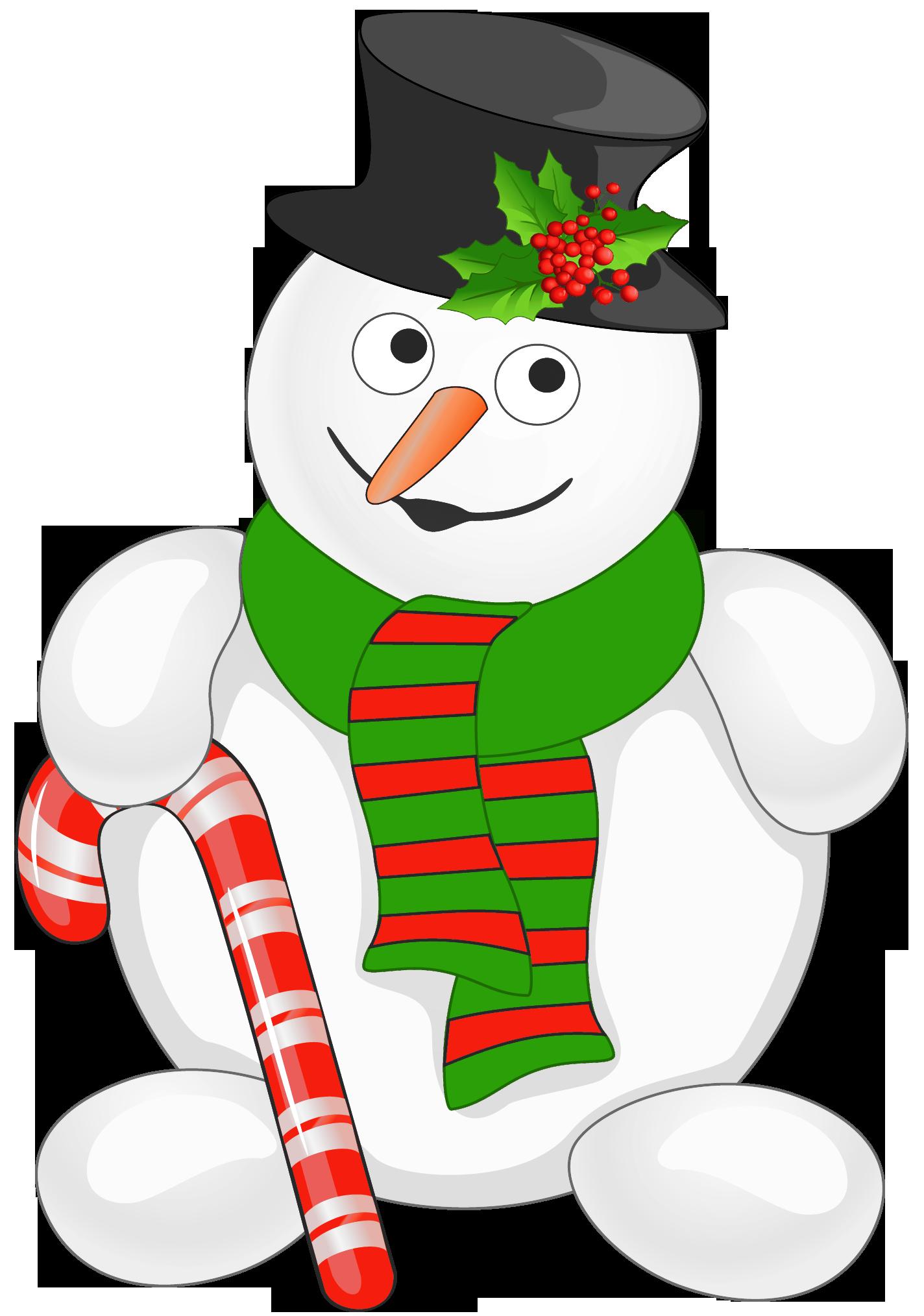 clip library library Cute Snowman Clipart