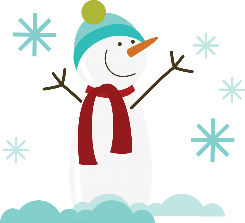 graphic royalty free library Free SVG of the Day Snowman free snowman svg file for scrapbooking