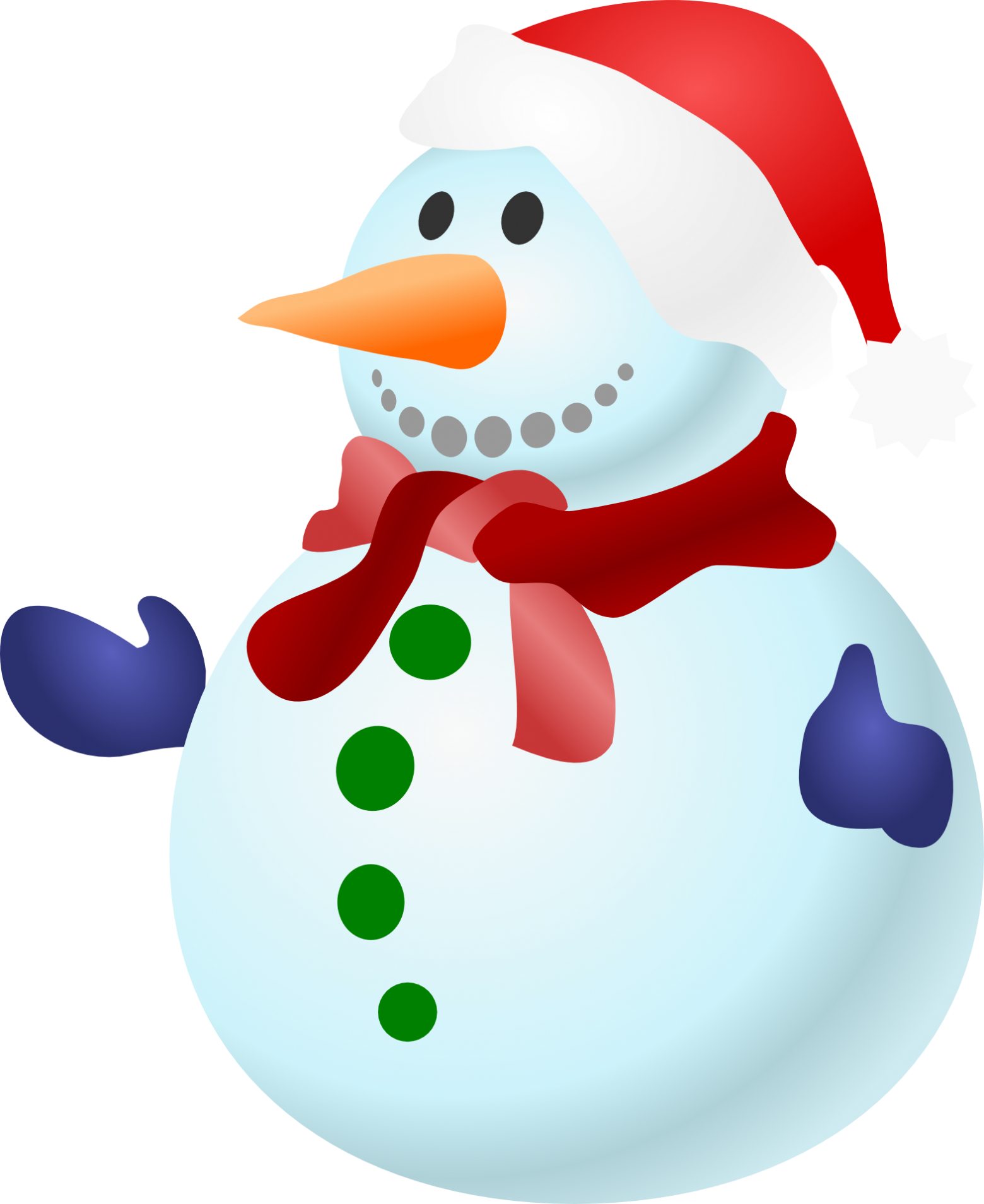 png library download Snowman Christmas Snow Cold Winter Frozen Gloves
