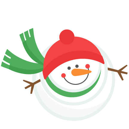 jpg free library Snowman Winter SVG scrapbook cut file cute clipart files for