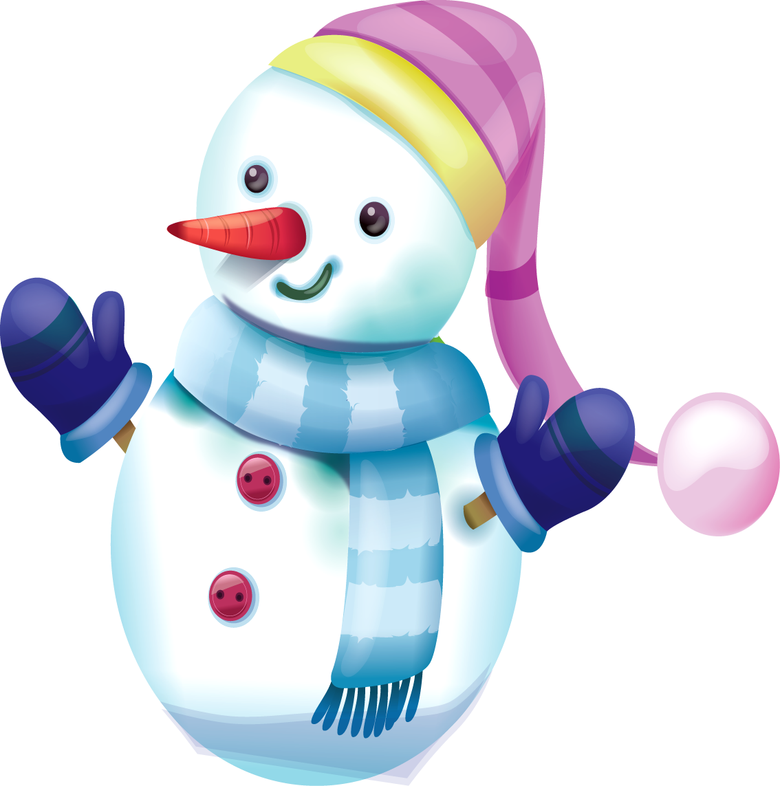 jpg royalty free download Snowman Clipart Transparent png images free