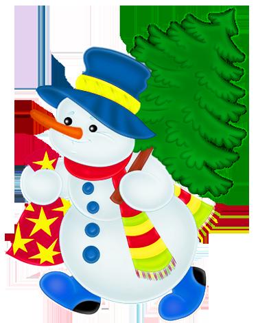 banner free stock Snowman Clipart