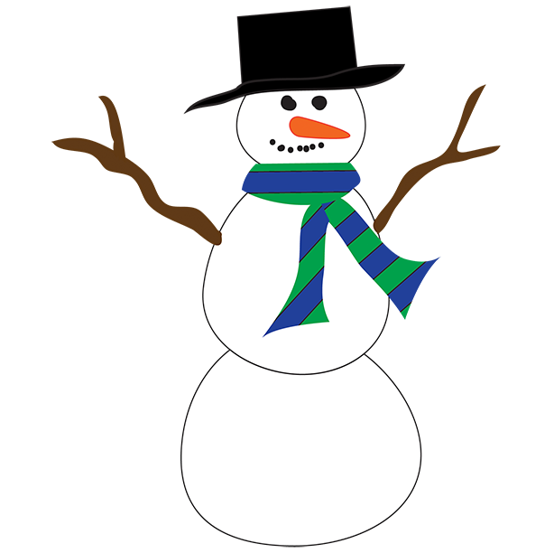 clipart freeuse download Free Snowmen Clipart