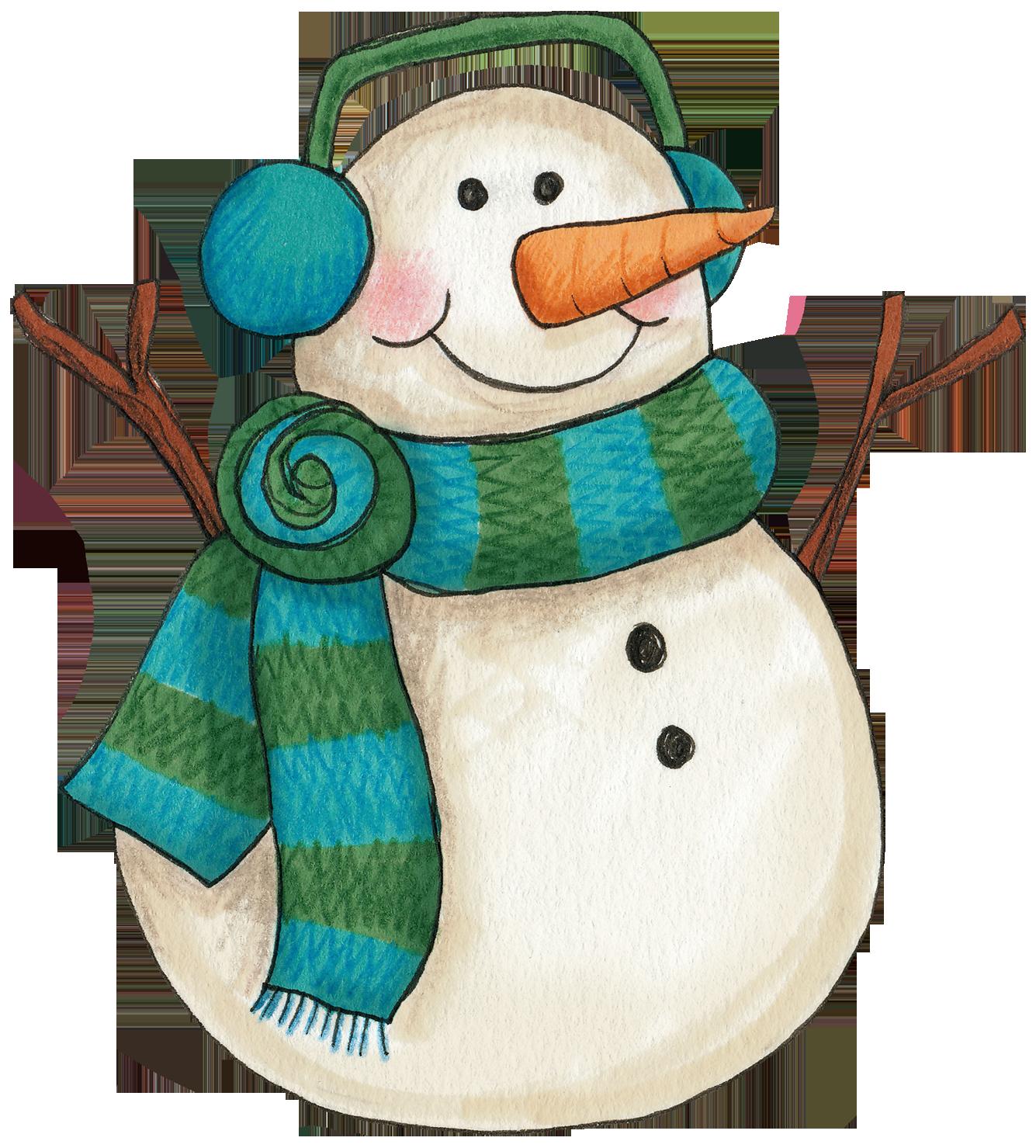 clip freeuse snowmen clipart primitive snowman #83617343