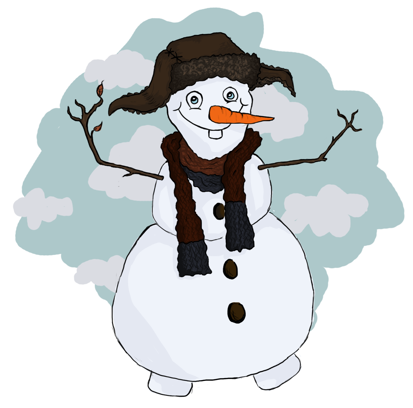 clip freeuse We combined your favorite dwarf with your favorite snowman and so we