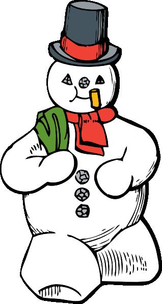 clipart library stock snowmen