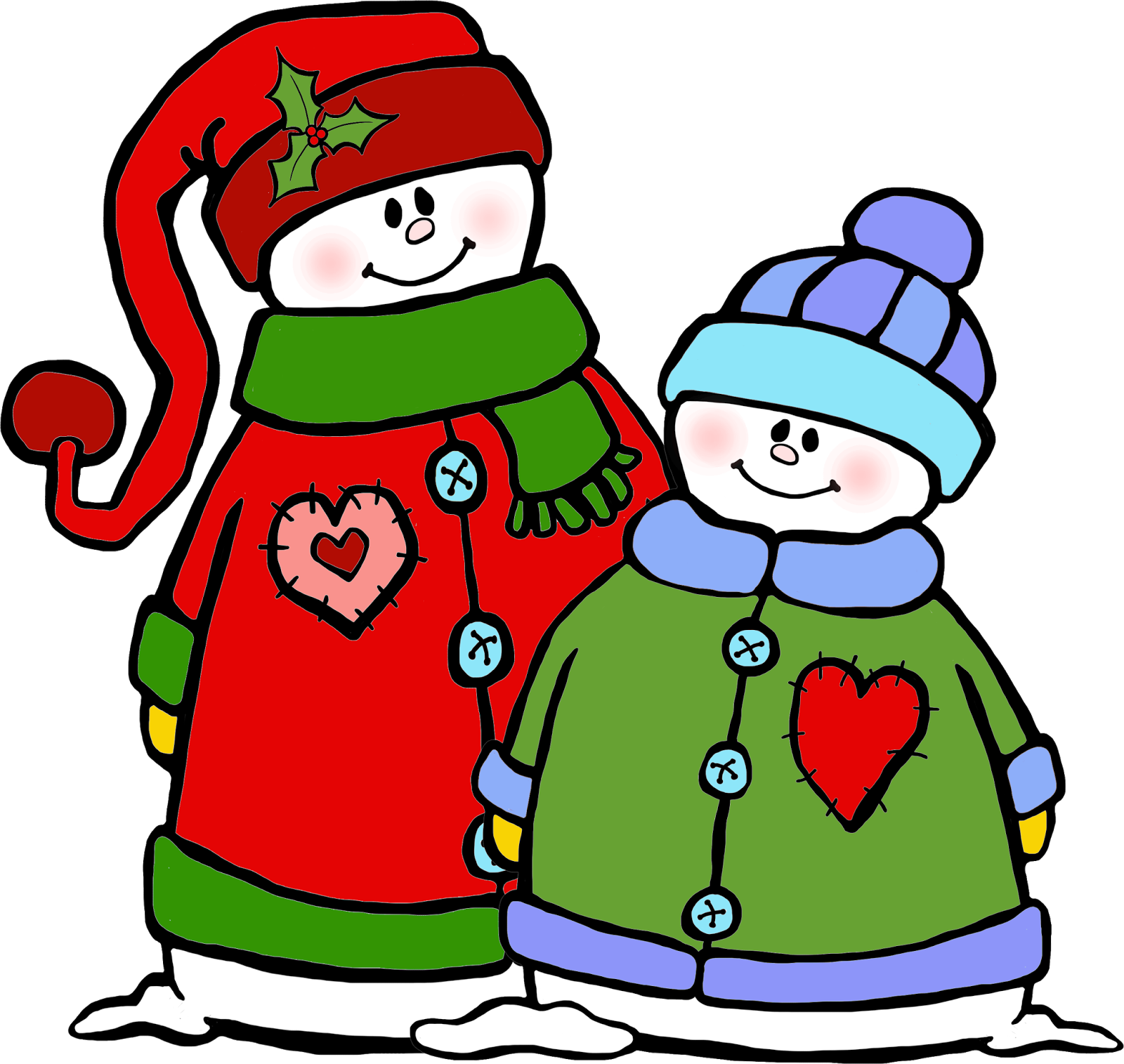 clip download whimsical snowman clipart