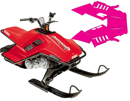 clip freeuse library Snowmobile Templates