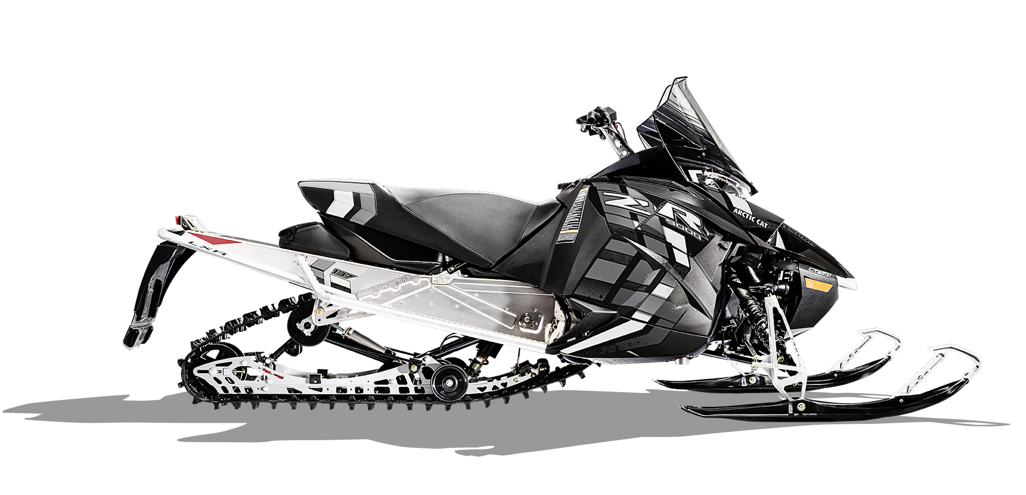 vector royalty free download Zr lxr arctic cat. Snowmobile drawing.