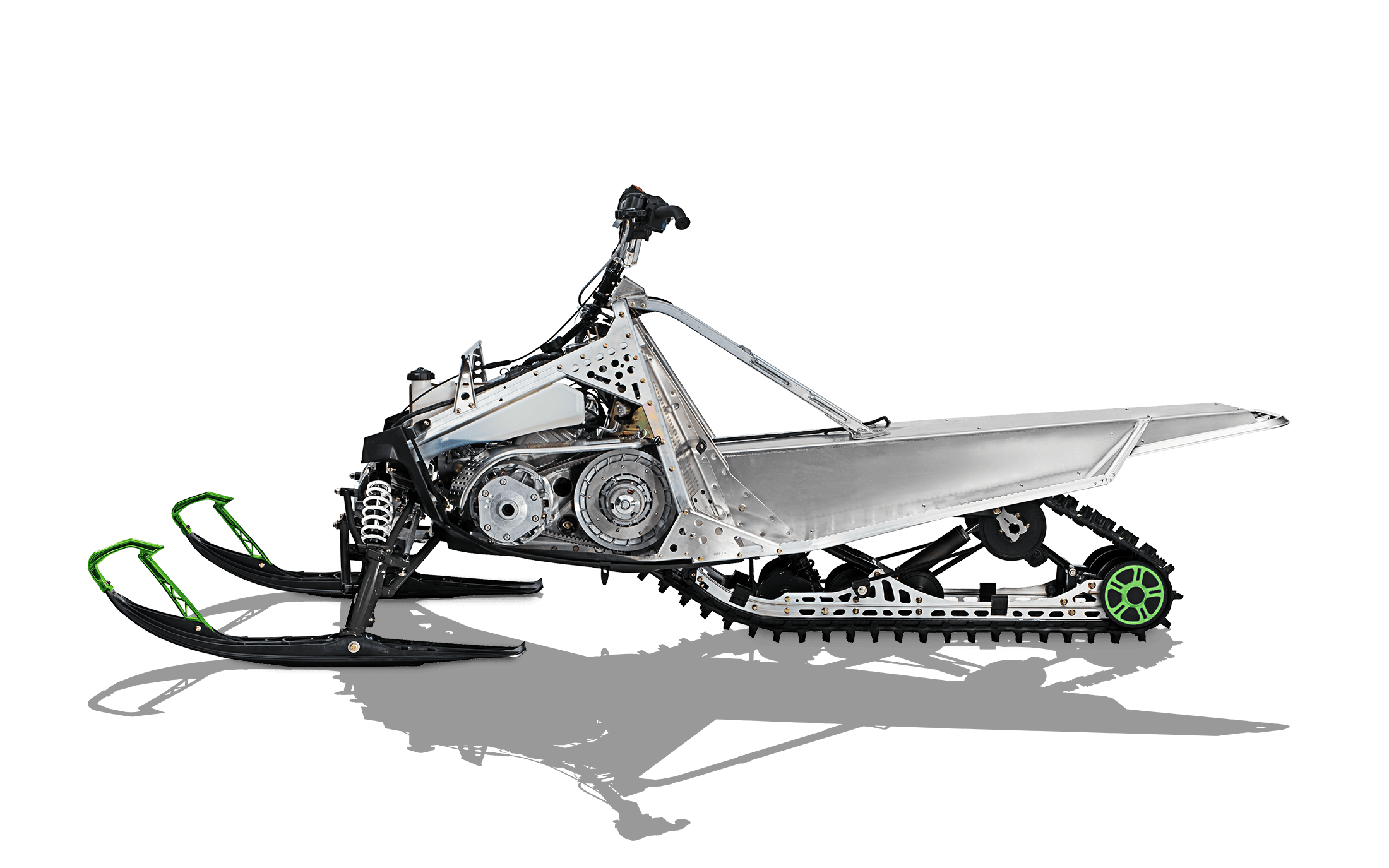 vector transparent download Snowmobile drawing. Family trail arctic cat.