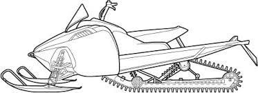 vector free download Snowmobile drawing. Google search awesome for.