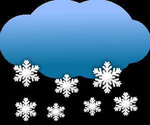 jpg transparent download Snowy clipart. Snow clouds clip art.
