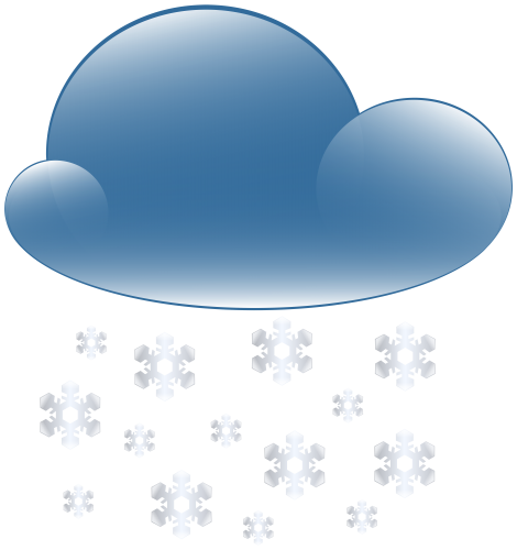 graphic free library Cloud weather icon png. Snowy clipart.