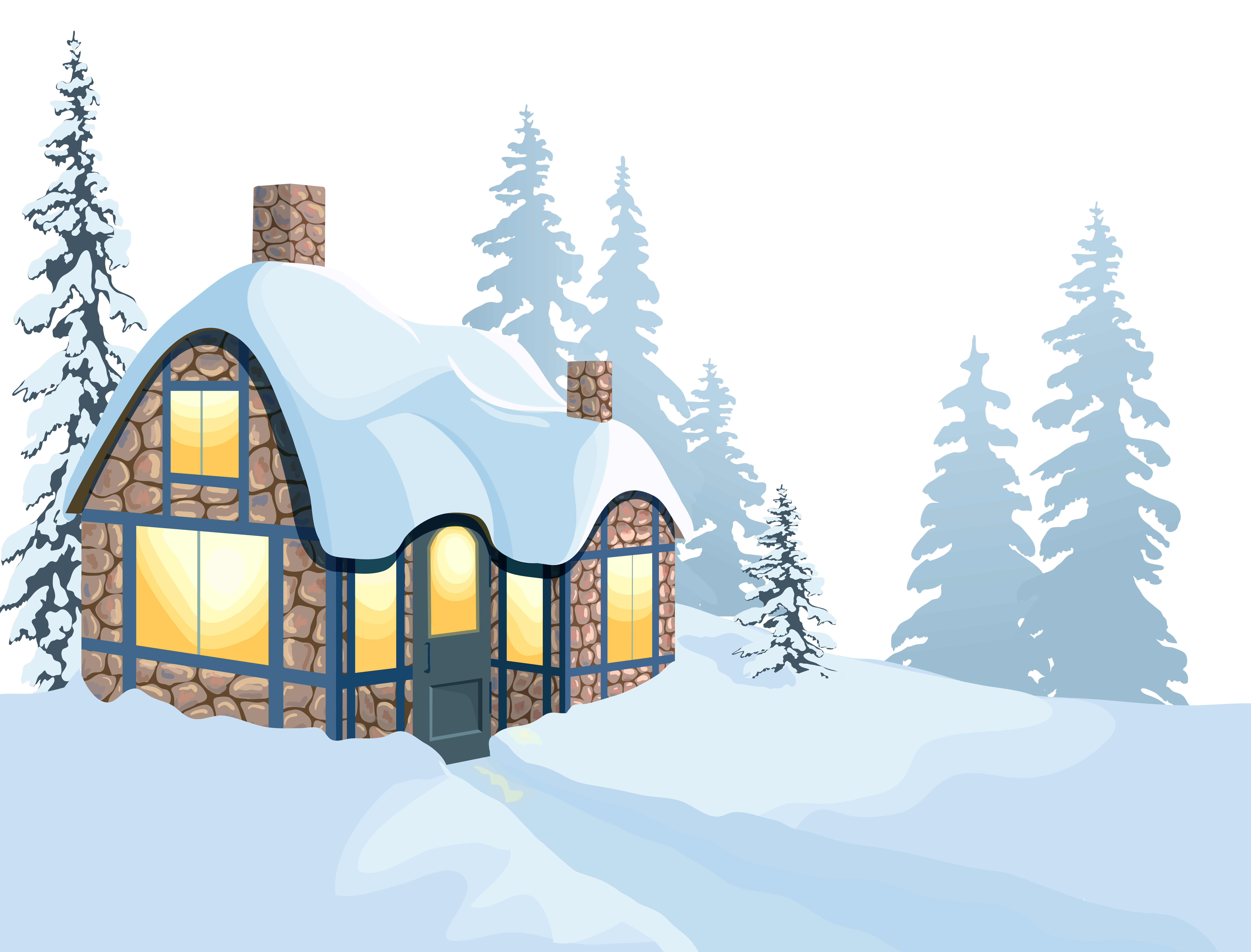 picture library Snowy clipart. Snowfall free on dumielauxepices.